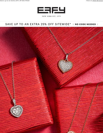To Her, With Love - Shop the Effy Holiday Sale