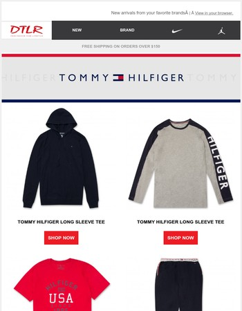 Brand New: Tommy Hilfiger, Nike, UGG and More!