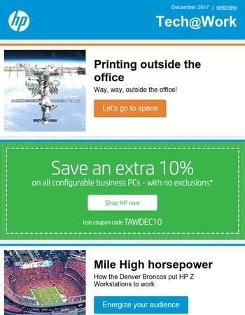 Your December Tech@Work newsletter