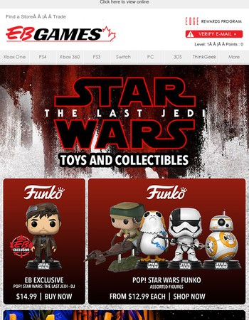 Star Wars: The Last Jedi Toys and Collectibles