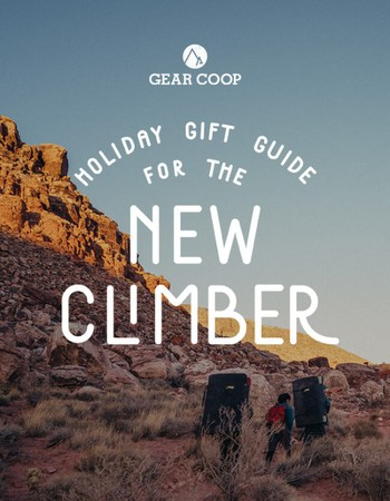 Need a gift for a new climber, check out our gift guide!