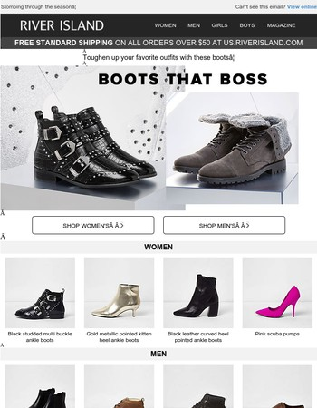 The boots that boss!