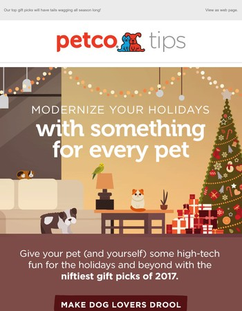Does your pet have high standards for the holidays?