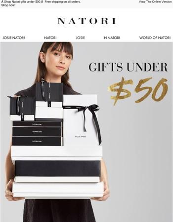 Natori: Great Gifts Under $50