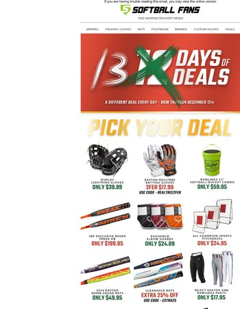 Deal #13 - 12 Days of Deals Extended One More Day!