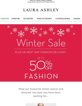 Shop our fashion sale plus enjoy next day delivery