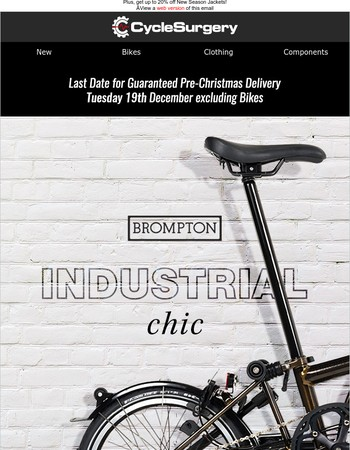 The New Brompton Premium Black Laqcuer Has Landed
