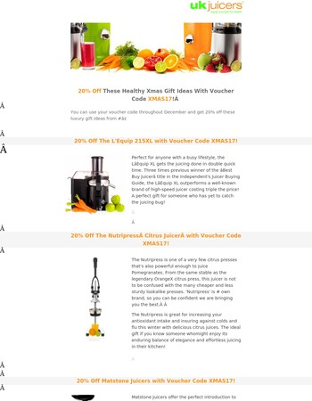 There's Still Time To Get 20% Off These Top Performing Juicers