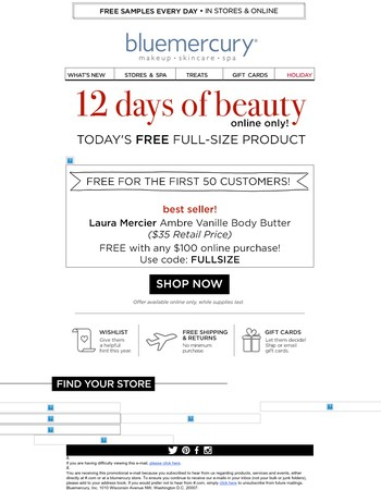 Only One Day Left! Free Full-Size Glamglow Supermud!