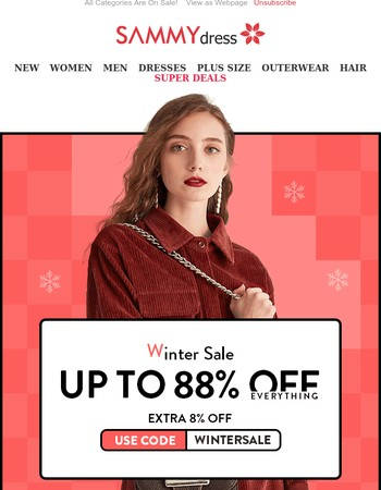 Markdown! Up To 88% Off Everything.