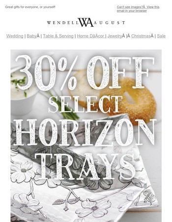 30% Off Our Most Popular Serveware