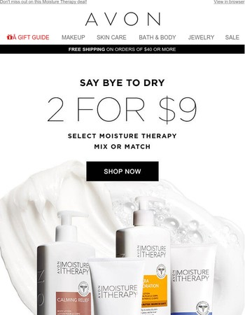 Bath & Body Savings Just 2 For $9!