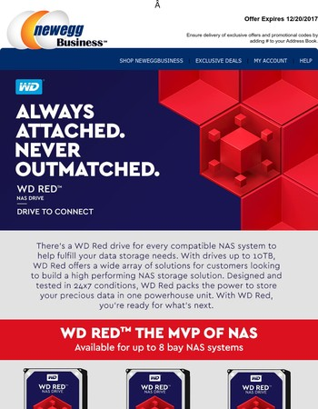 Save Up to $200 on WD NAS Storage Designed for SMB