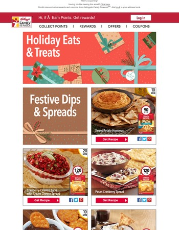 Holiday Party Dips