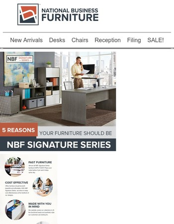 5 Reasons Your Furniture Should Be NBF Signature Series