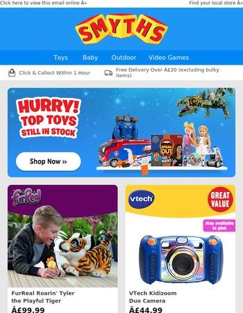Most Popular Toys Still in Stock!