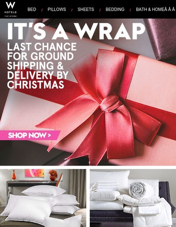 No Excuses. Get Savings & Guaranteed Christmas Delivery. Shop Now.