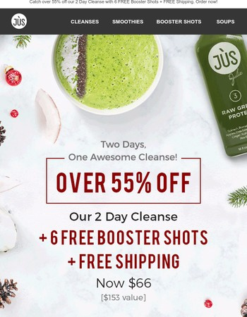 WOW - Over 55% Off!