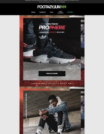 adidas Originals Prophere - lands 00:01AM