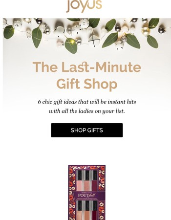 Oh What Fun! Last Minute Gifts We Adore!