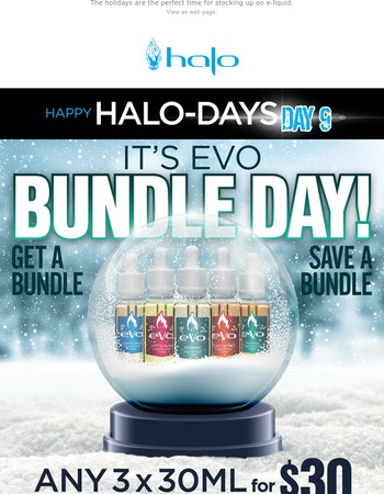 Four for $40 eVo + Any 10ml Free
