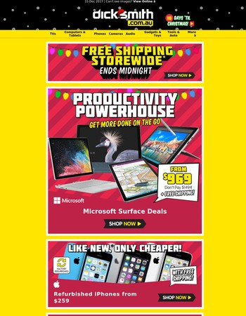 Microsoft Surface Deals   Last Day for Free Shipping Storewide*