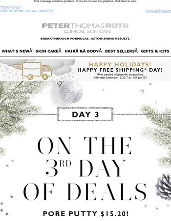 Deal of the Day – Day 3! Only $15.20
