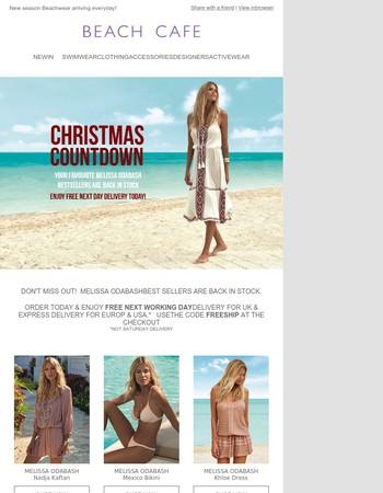 Christmas Countdown   Melissa Odabash Back in Stock