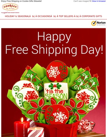 FREE Shipping Day is Here! Today Only!