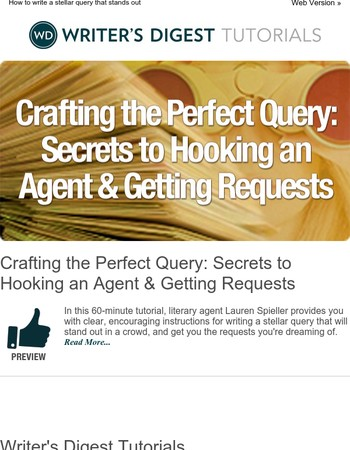 Learn How to Craft the Perfect Query that will Hook Agents