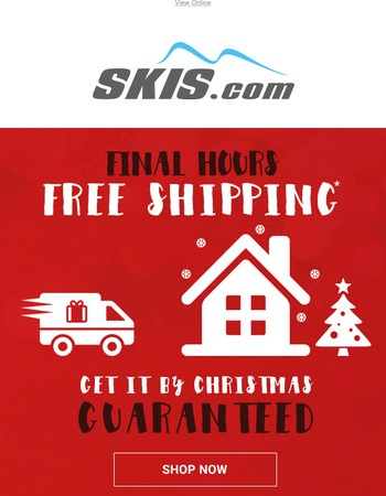 WARNING! | Final Hours For FREE Guaranteed By Christmas Delivery