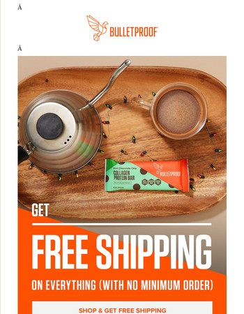 Final Call: Free Shipping Day deal ends tonight at 11:59 p.m. Pacific time...