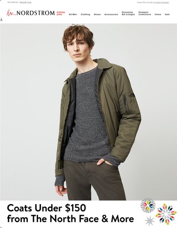Coats under $150: The North Face and more