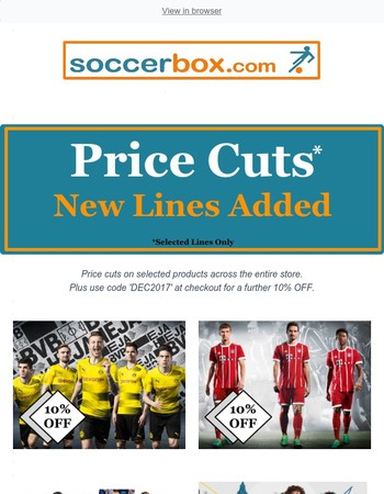 Price Cuts. Up to 55% OFF. New Lines Added. It's Not too Late for Christmas.