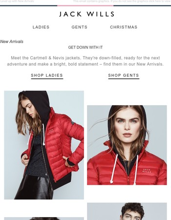 Meet the Cartmell & Nevis jackets