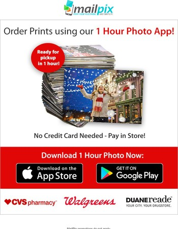 Prints from your phone in 1 Hour!