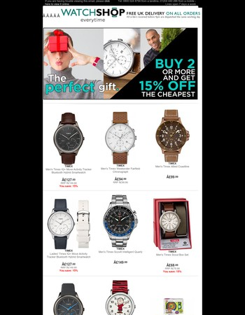 Timex - Great Gifts Come In Small Boxes