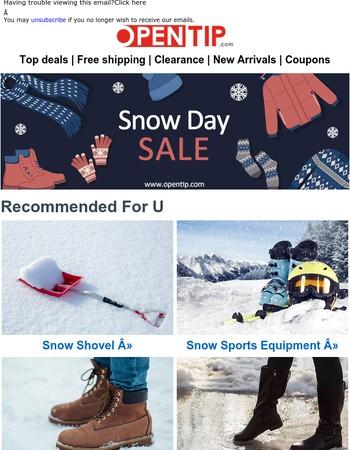 SNOW DAY SALE | Do you like Snow?