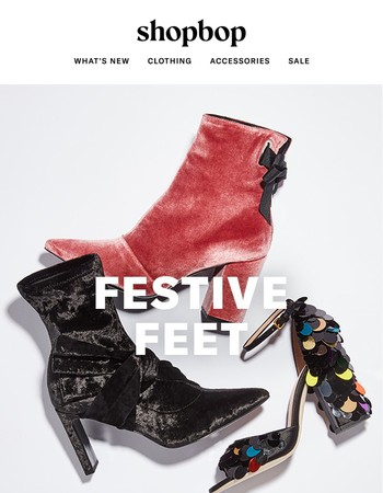 Your new party shoes