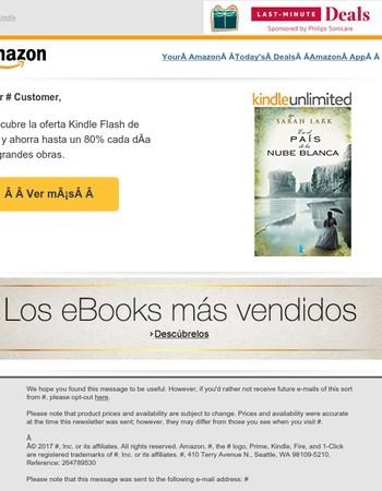 Hoy: Hasta 80% de descuento en Kindle Flash