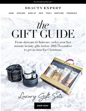 The Beauty Expert Gift Guide