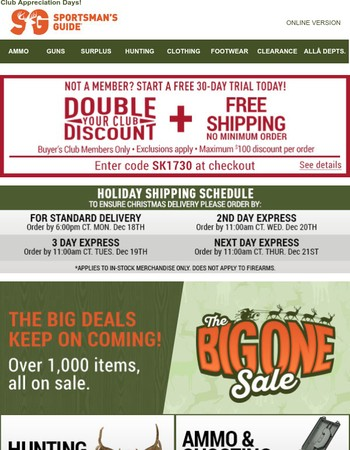 Sportsman warehouse coupon code 2018