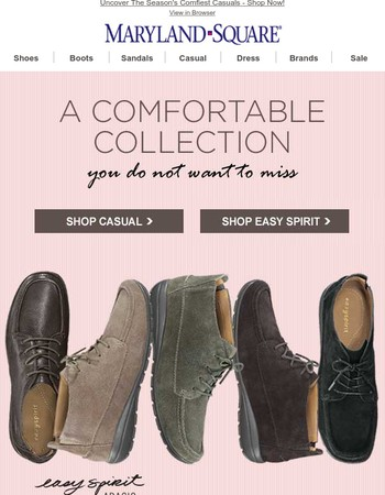 Latest Maryland Square Shoes Newsletter