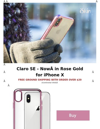 Perfect for Her - Claro SE in Rose Gold