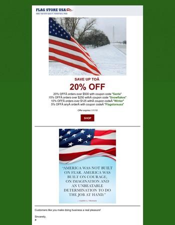 Still Time to Save with Huge Christmas Savings!