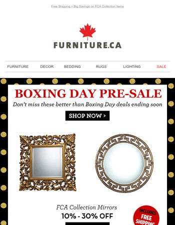 Don't Miss These Better Than Boxing Day Deals Ending Soon!