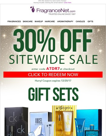Your 30% OFF Holiday Shopping Pass