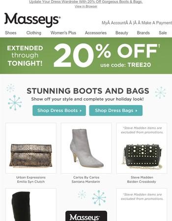 Latest Masseys Shoes Newsletter
