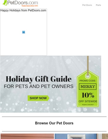 Save 10% Off Our Holiday Gift Guide