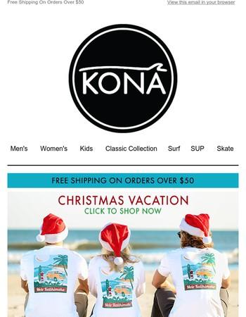 Tis the Season at The Kona Surf Company